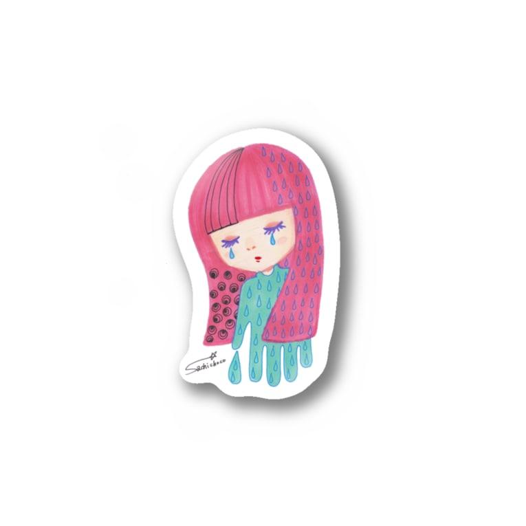 sachi☆chocoの夜が来た Stickers
