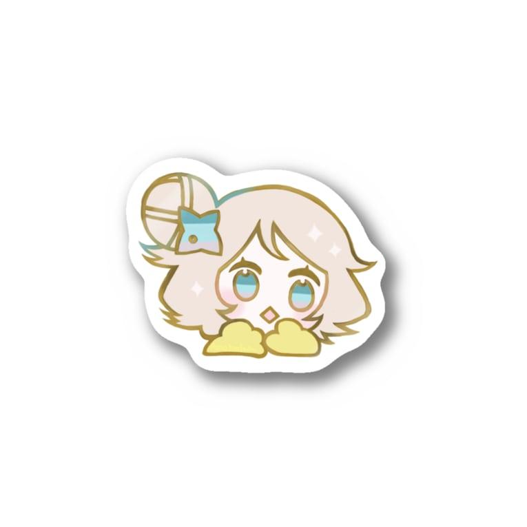 7_nanaのちどりA Stickers