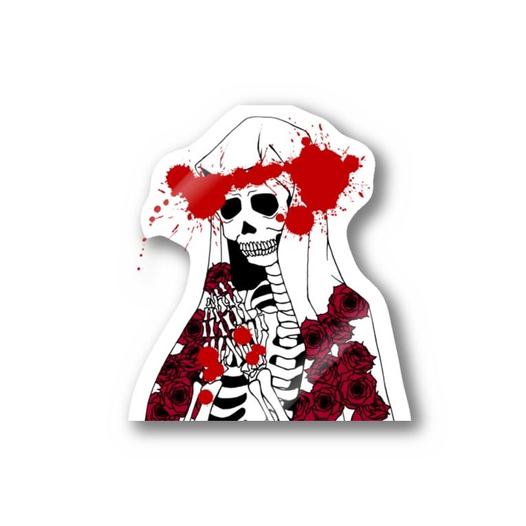 ScapegoatのStigmate-Memento Mori Stickers