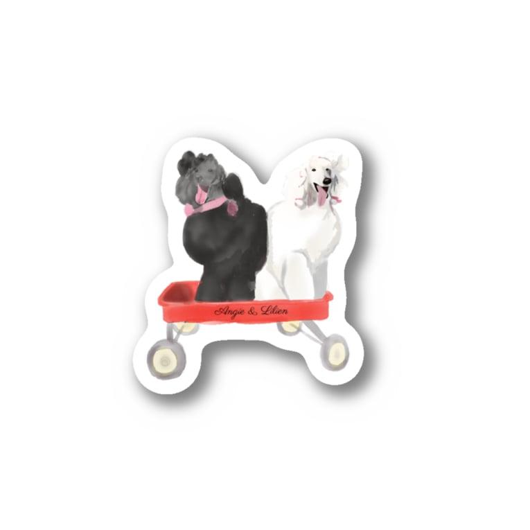 natsuki108のアンジー&リリエン(大) Stickers