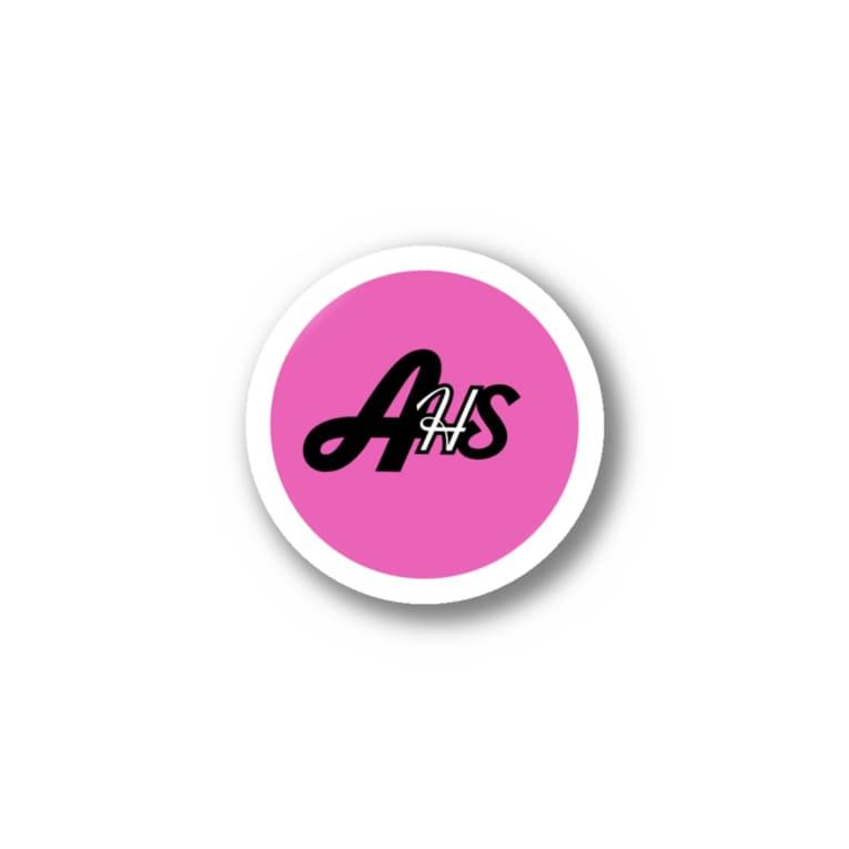 ひまわり@ハッピーライフクリエイターのアホサロステッカー Stickers