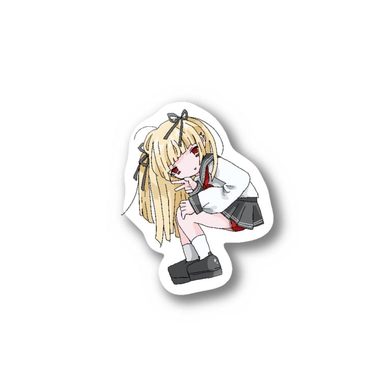 つよきで!(笑)秋葉原本部のぱんちら! Stickers