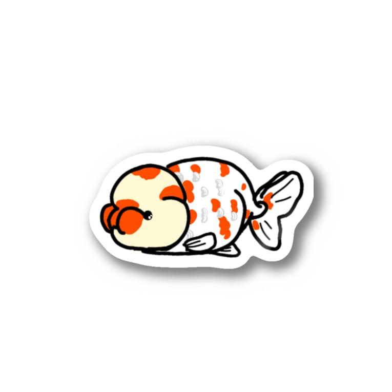 カタツムリ本舗の桜錦 Stickers
