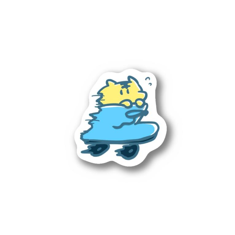 Miraiのいそぐとら Stickers