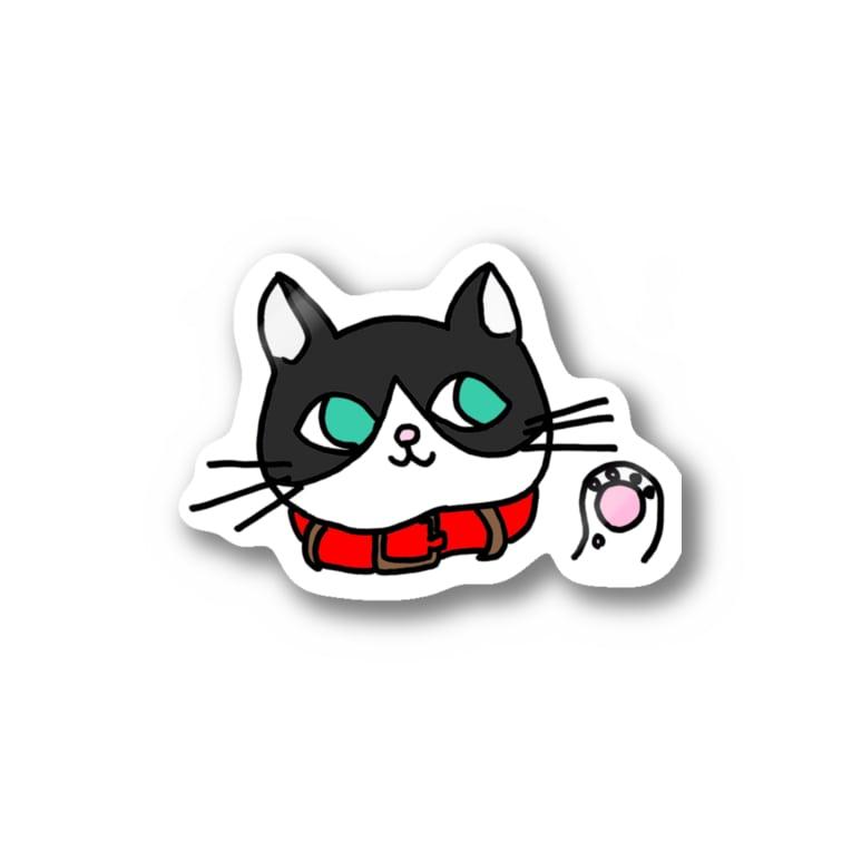 フトンナメクジのみゅうみゅうフェイス - miumiu face Stickers