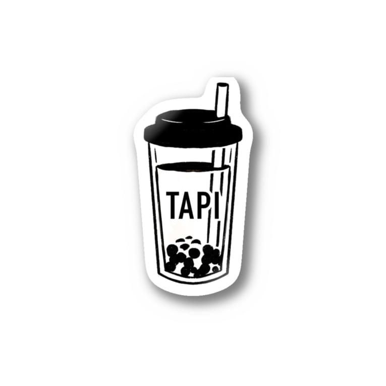 おしるこファクトリーのおタピ Stickers