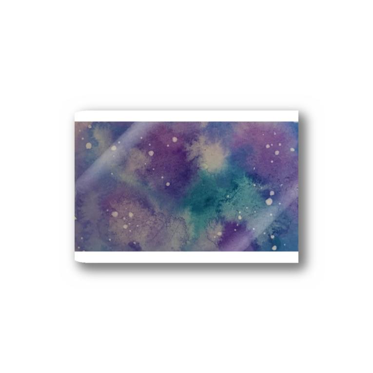ff6rfの水彩宇宙柄 Stickers