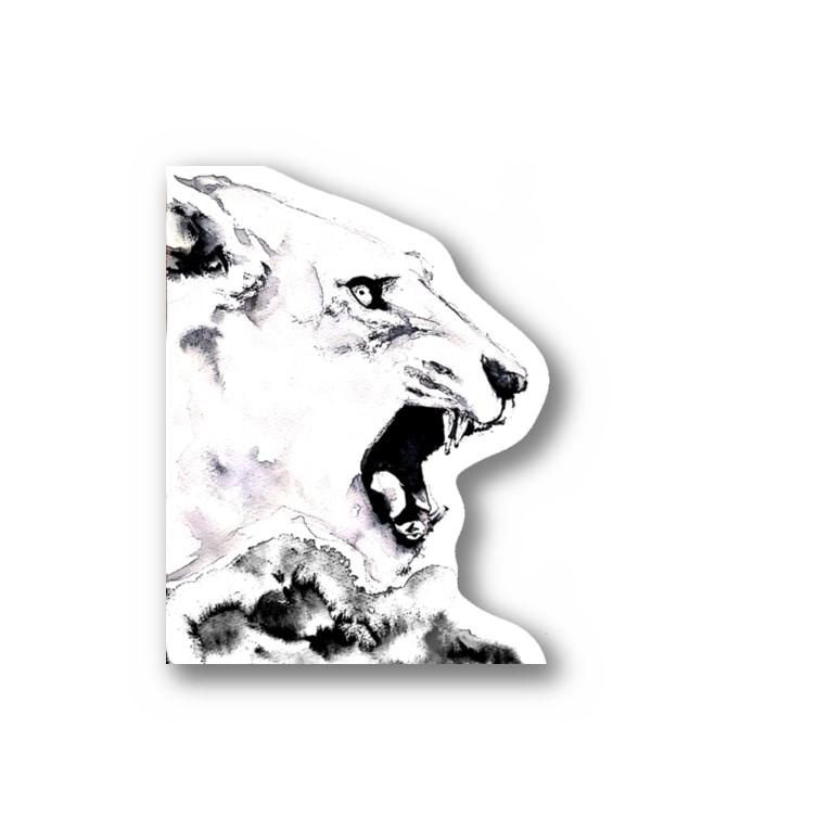 シシカバぐっずの虎 Stickers