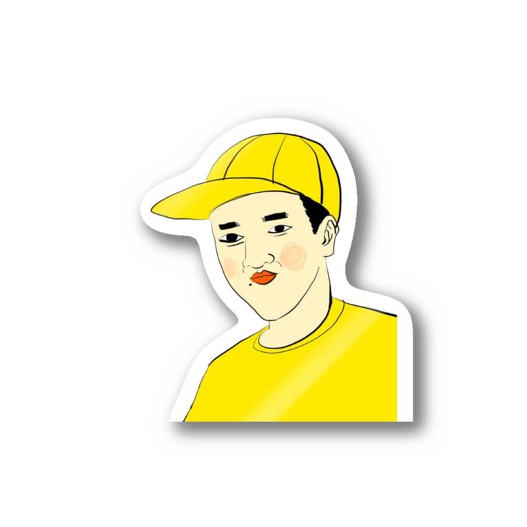 YUBESHIのつうこうにん Stickers