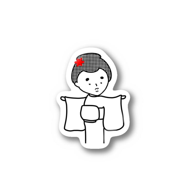 CHACHAGIRLのはんなりがーる。(どう?) Stickers