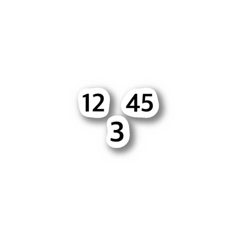 DSIのダウンスリー Stickers