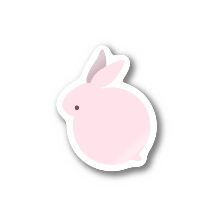 yacocoのうさぎ Sticker