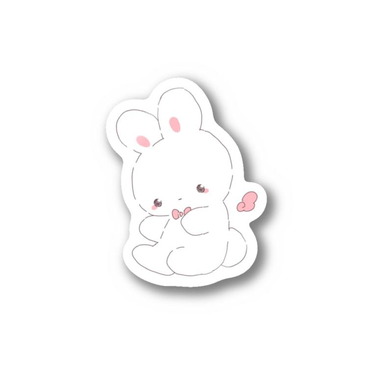 ˗ˋˏ 𝙢𝙞𝙡𝙪 ˎˊ˗のうさちゃん Stickers