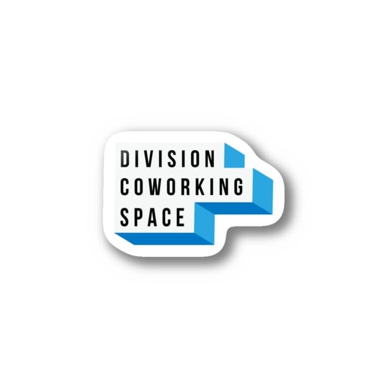 DIVISIONのBoxlogo Stickers
