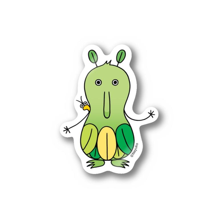 Nayukoのコロッポ&ピト Stickers