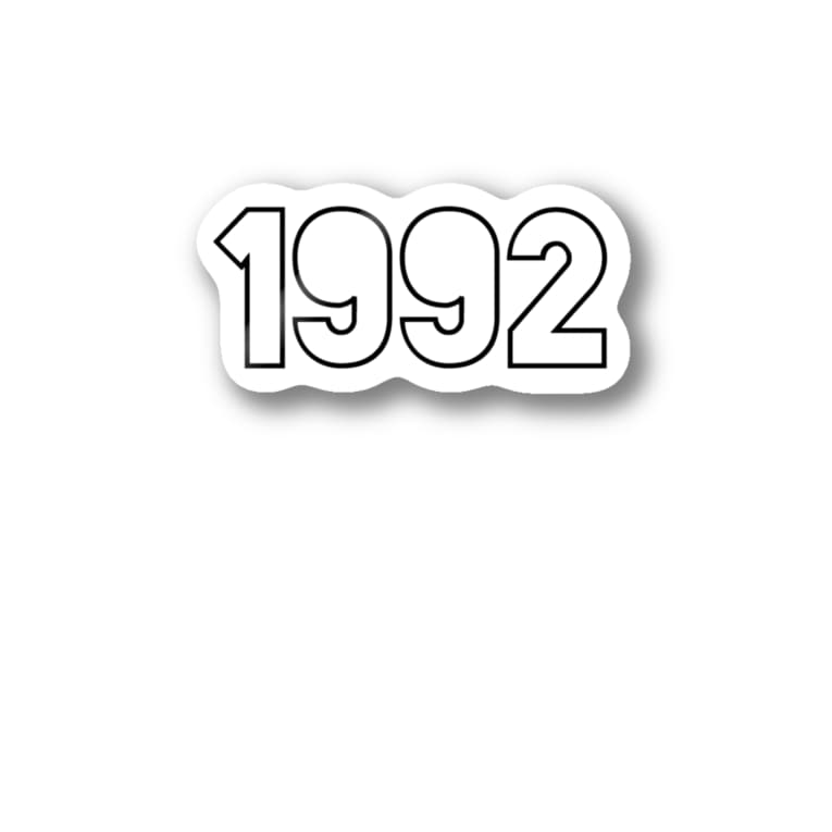 KJ_shopの1992 sticker Stickers