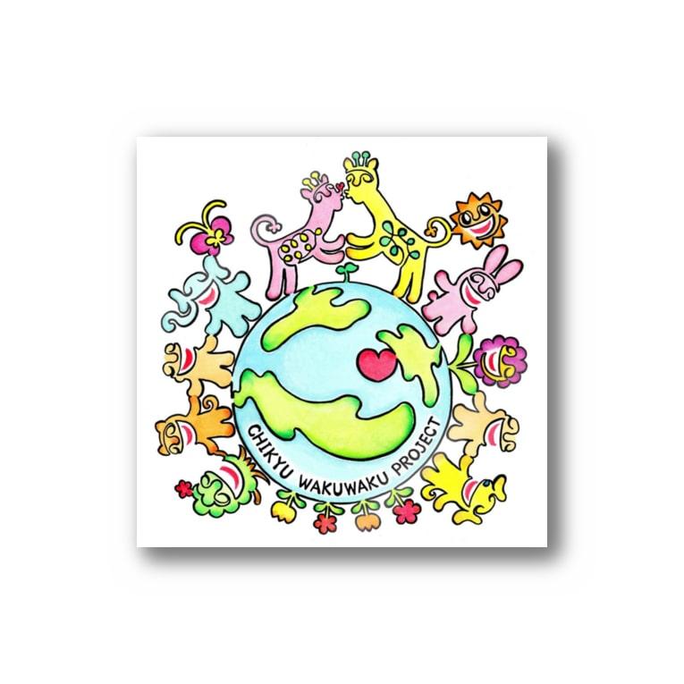 solfeel ソル・フィールの地球わくわくプロジェクト Stickers