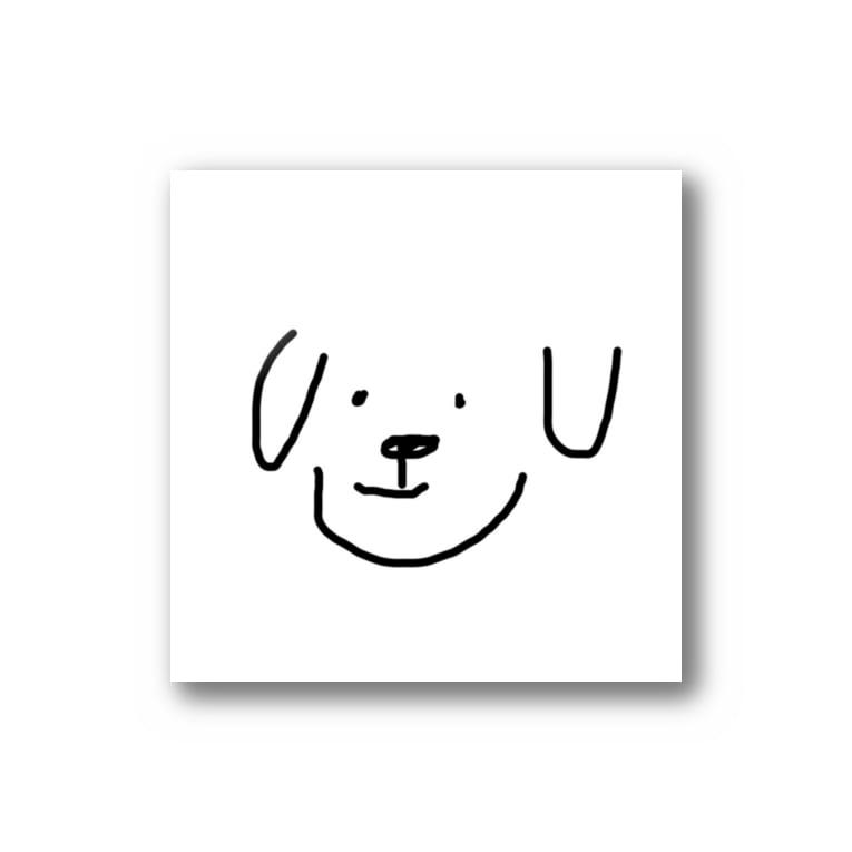古木のただの犬(ステッカー) Stickers
