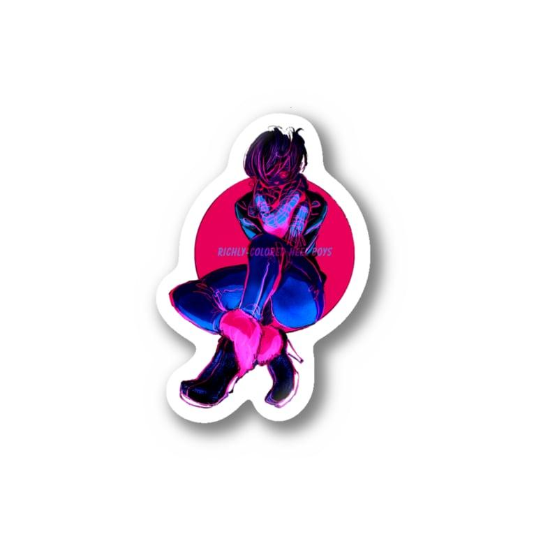 enishopのHEEL BOY Stickers