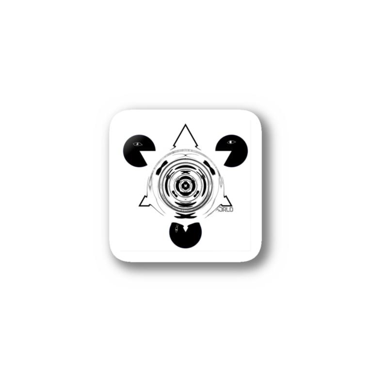 DMT WORLDのy c m 歪👽 Stickers