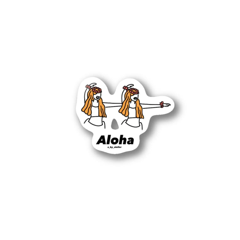 a_by_atelierのフラガール Stickers