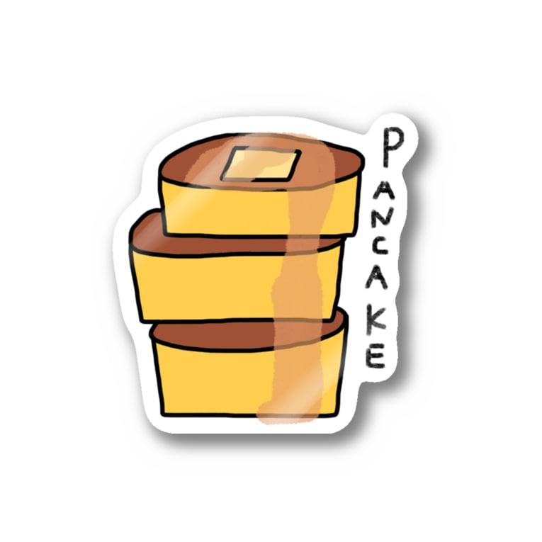 Lampのパンケーキ🥞 Stickers