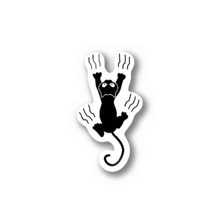 XennyStoreのBlack Cat Stickers