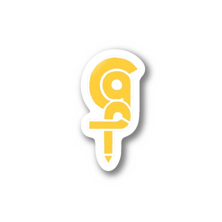 くら方のCGPロゴステッカー Stickers
