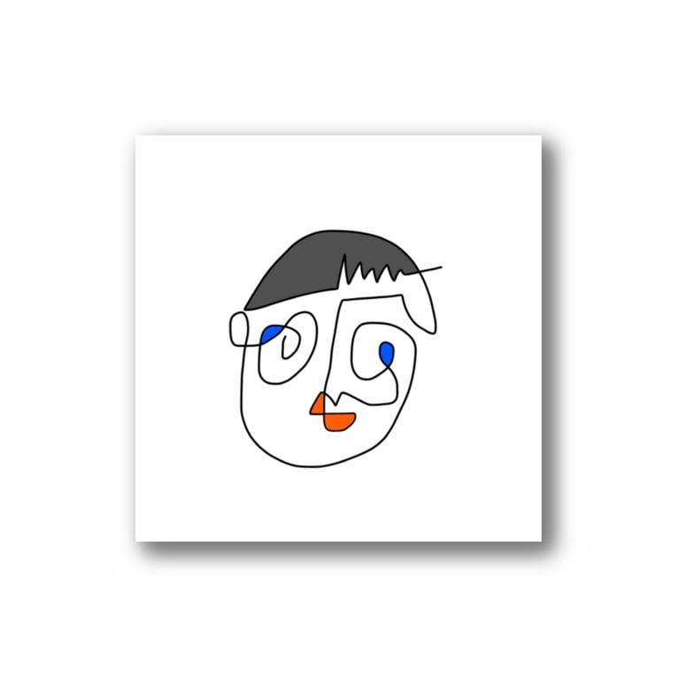 モナ王の泣きべそboy Stickers