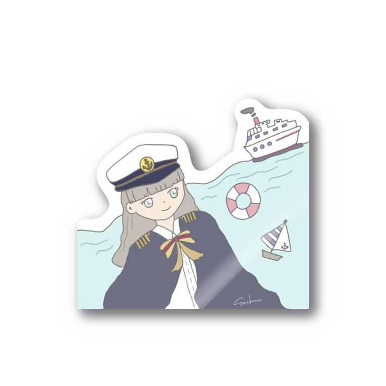 SachunのCaptain Sachun Stickers