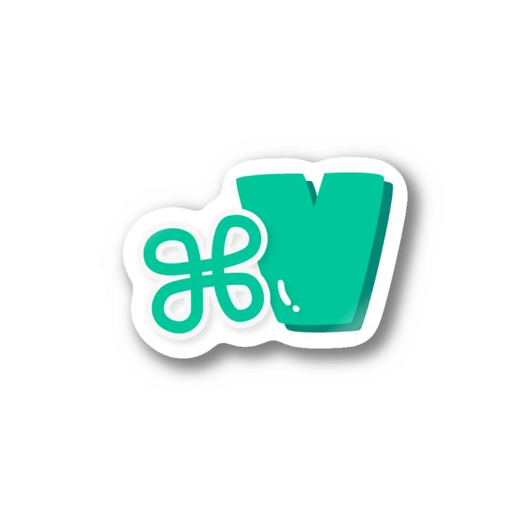 söpö minäのぽっぷなこまんど+V Sticker