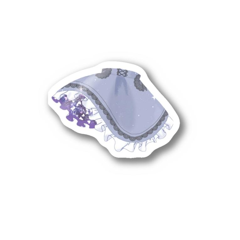 timatimaの夢宇宙スカート Stickers