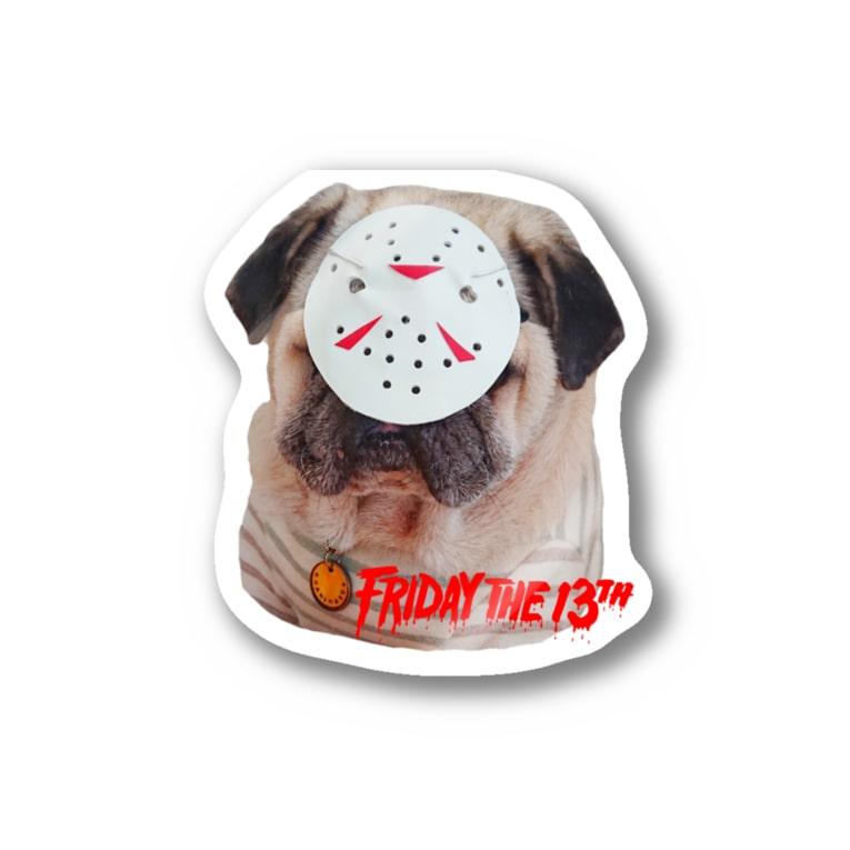 shishimaru-gmenの13日(金) Stickers