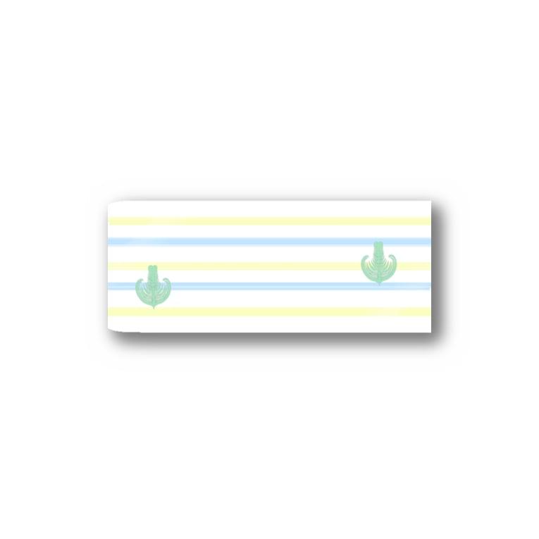 Prism coffee beanのジェラートラテアート~Landscape~ /パイナップル×ブルーハワイ Stickers