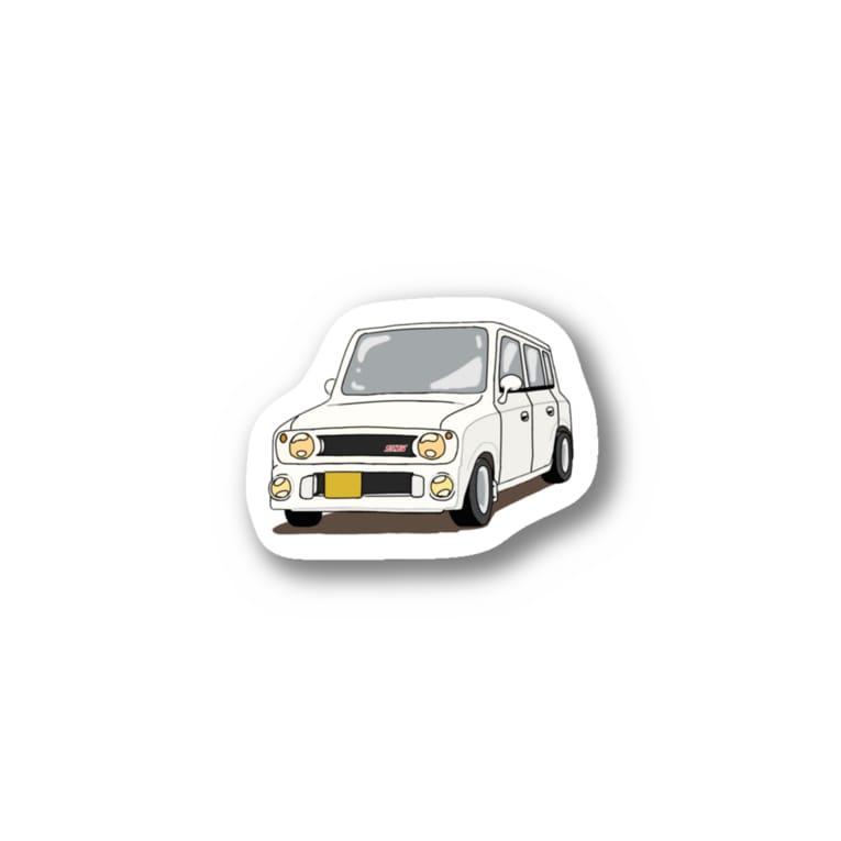 はちショップ🐝のラパンss (ホワイト) Stickers
