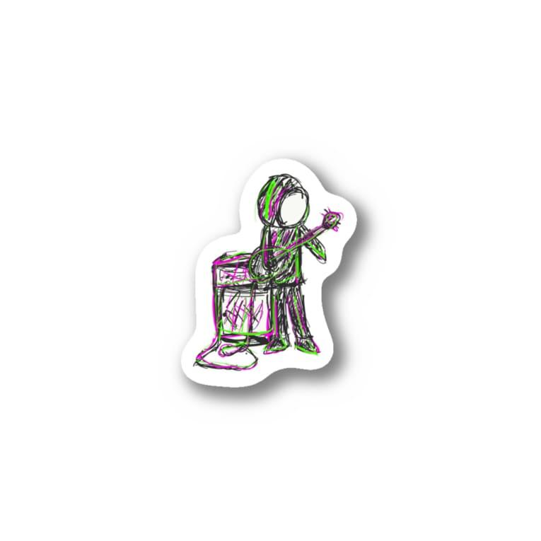 Dr.イエロー46のあんちょく Stickers