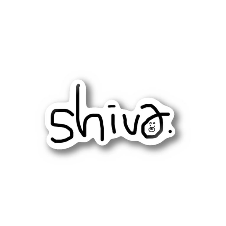 DJとあるのshiva.サイン Stickers