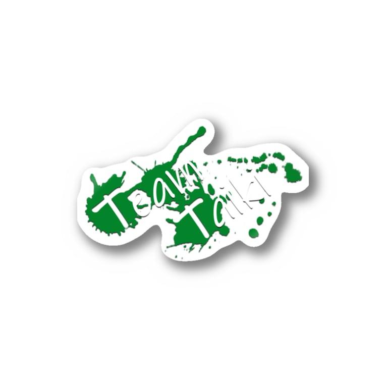 TaikiRacingClubShopのTEAM TAIKI_splash Stickers