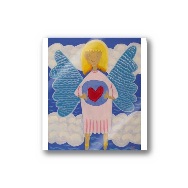 riho*の愛の天使 Stickers