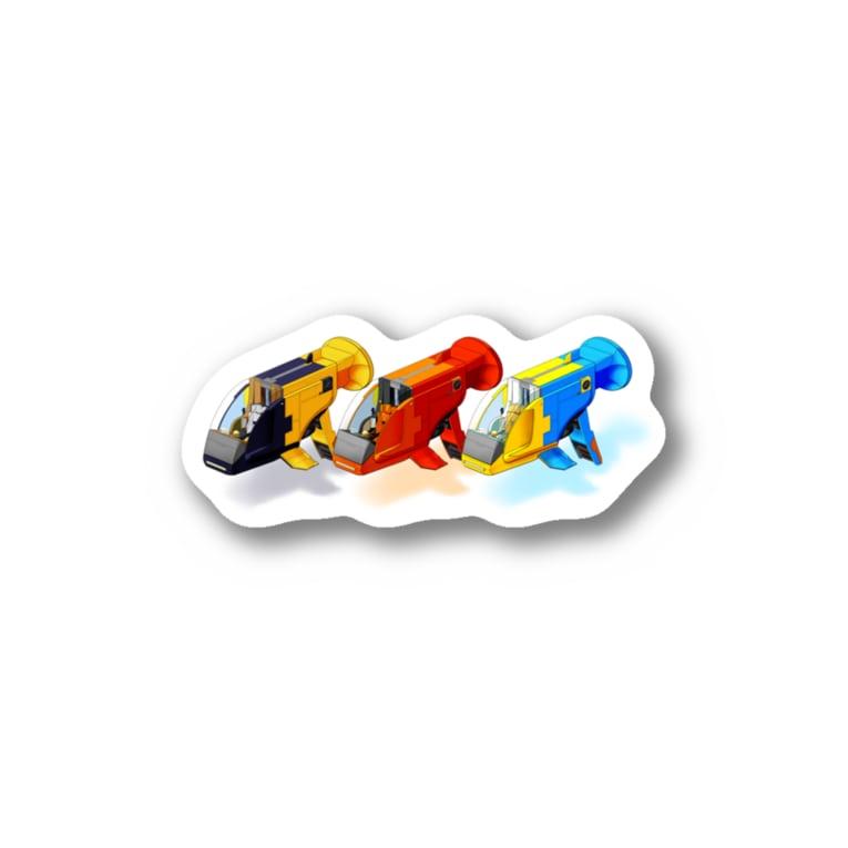 PoooompadoooourのGUPPY(3色) Sticker