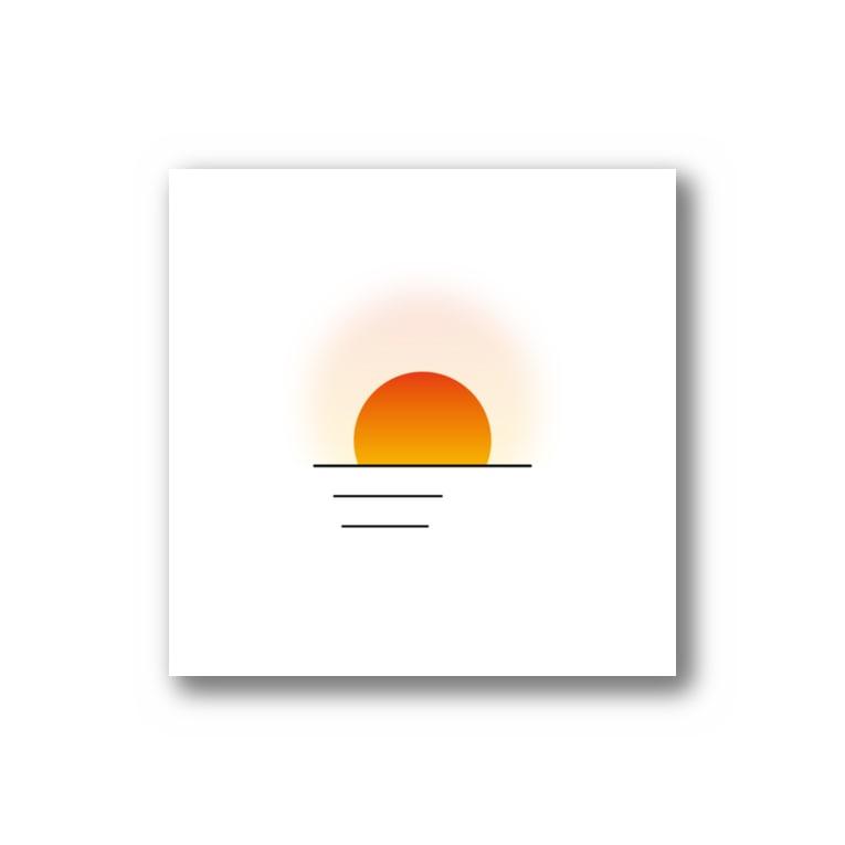 ネネ / __ne54の朝日 or 夕日  Stickers