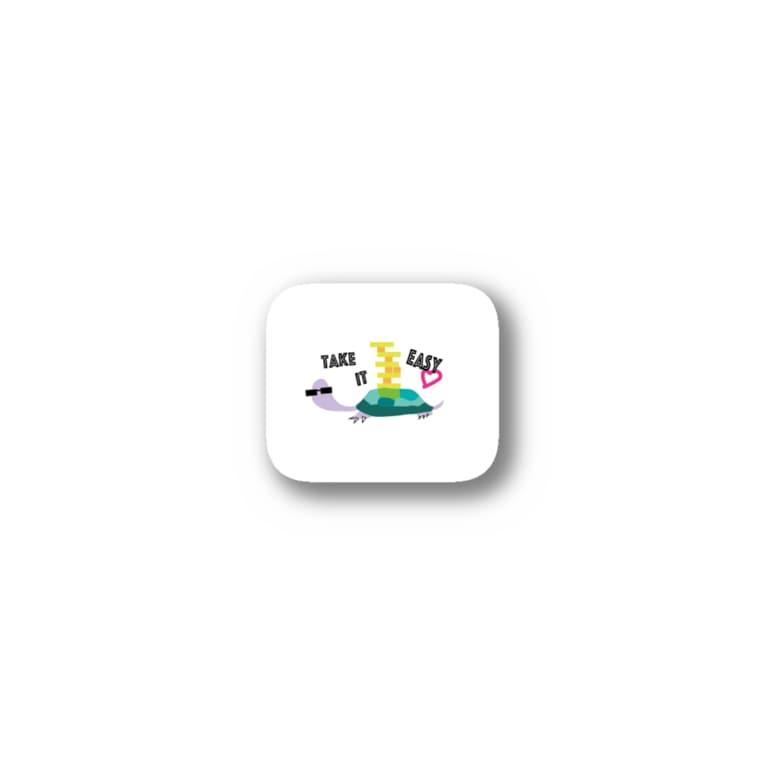 coco70のHEY! TURTLE Stickers