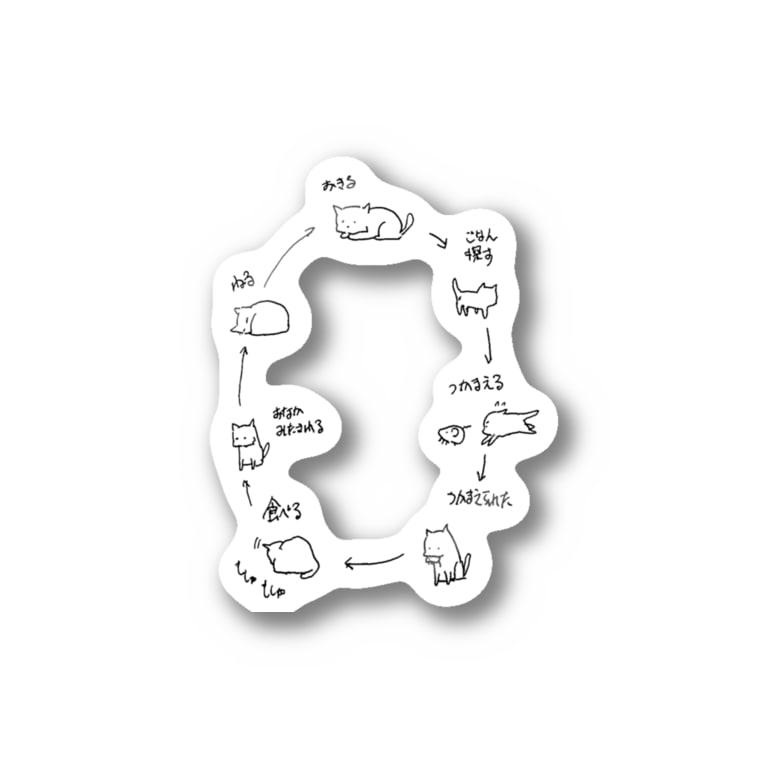 nola Inc.の自然の摂理 Stickers