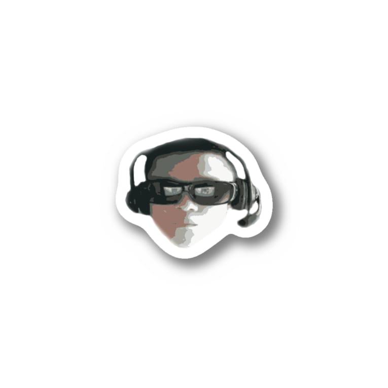 HesitationSnowのドット絵無職2 Stickers
