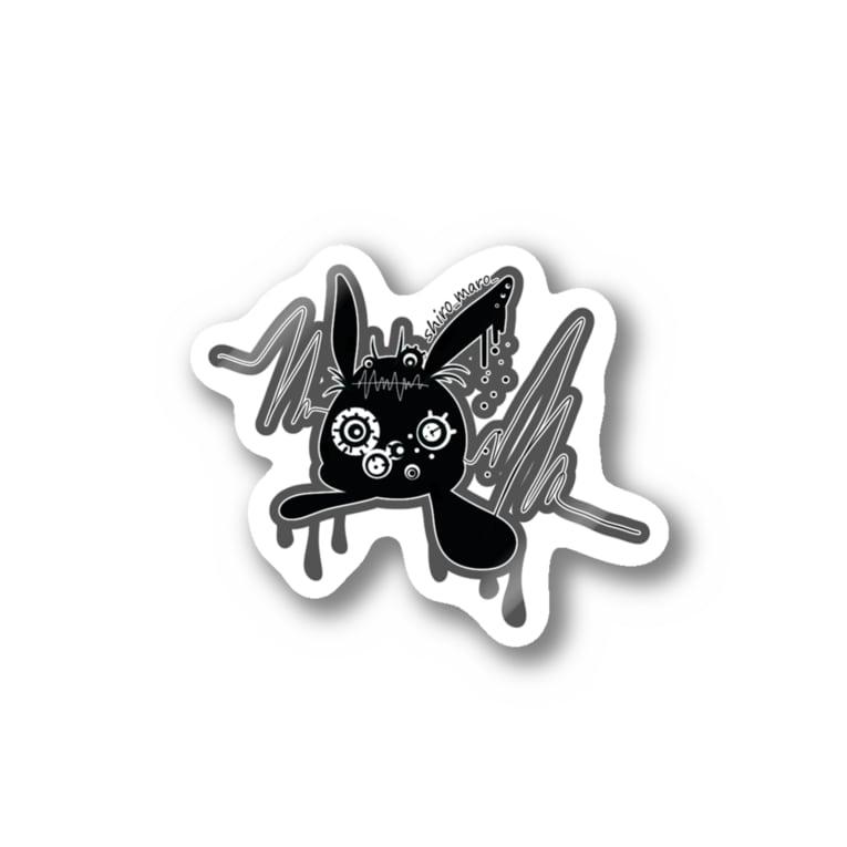 しろまろ/shiromaro.artのけろびっと Stickers