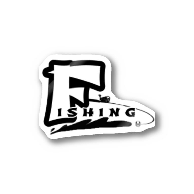 sta-ticeのfishing ロゴ Sticker