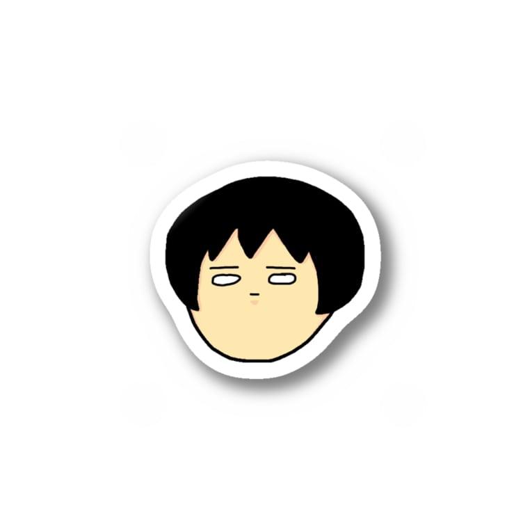 モモイロウサギ@平均的凡人達のちょっと良いステッカー Stickers
