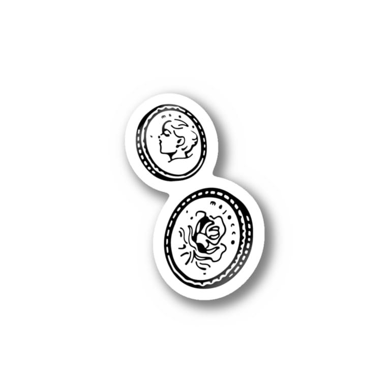 majoccoのお金 Stickers