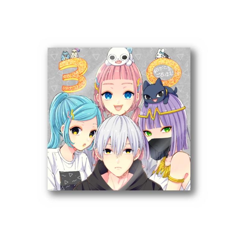 SS manga diary−慎本真−グッズショップの30万人記念のエス君ハーレムステッカー Sticker