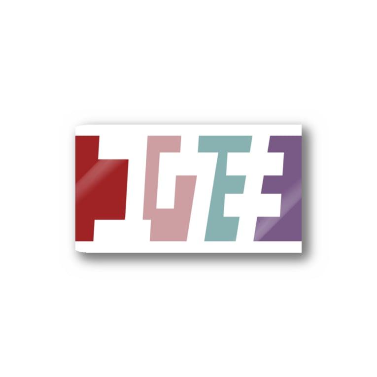 東京Tシャツ 〈名入れ・イニシャルグッズ〉のユウキさん名入れグッズ(カタカナ)難読? 苗字  Sticker